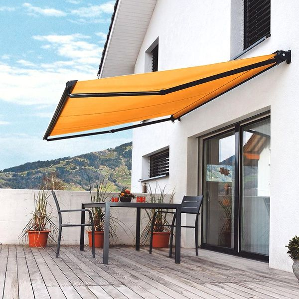 High quality outdoor waterproof folding arm retractable