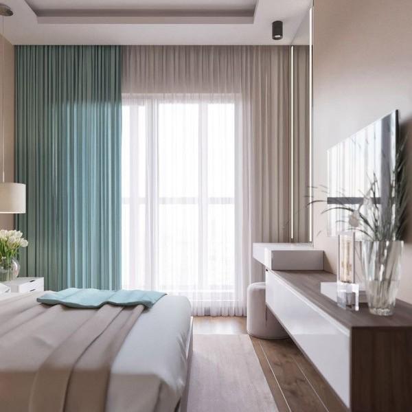 tende camera da letto 1